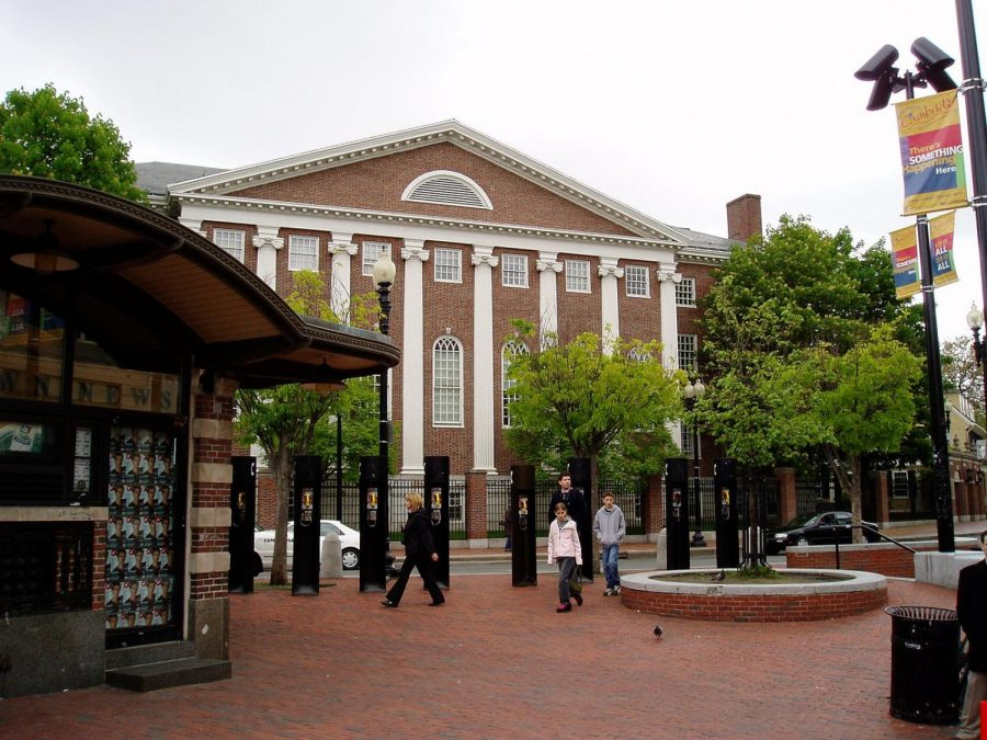"""Cambridge Harvard Square"" by Muns is licensed under CC by 2.0 Generic."