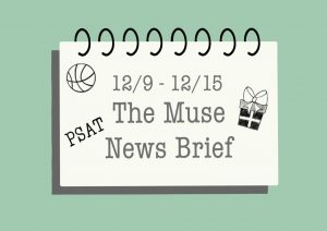 12/9-12/15 NEWS BRIEF: PSAT SCORE RELEASE, BOYS BASKETBALL TEAM OPENER, JEFFERSON JUBILEE, AND MORE