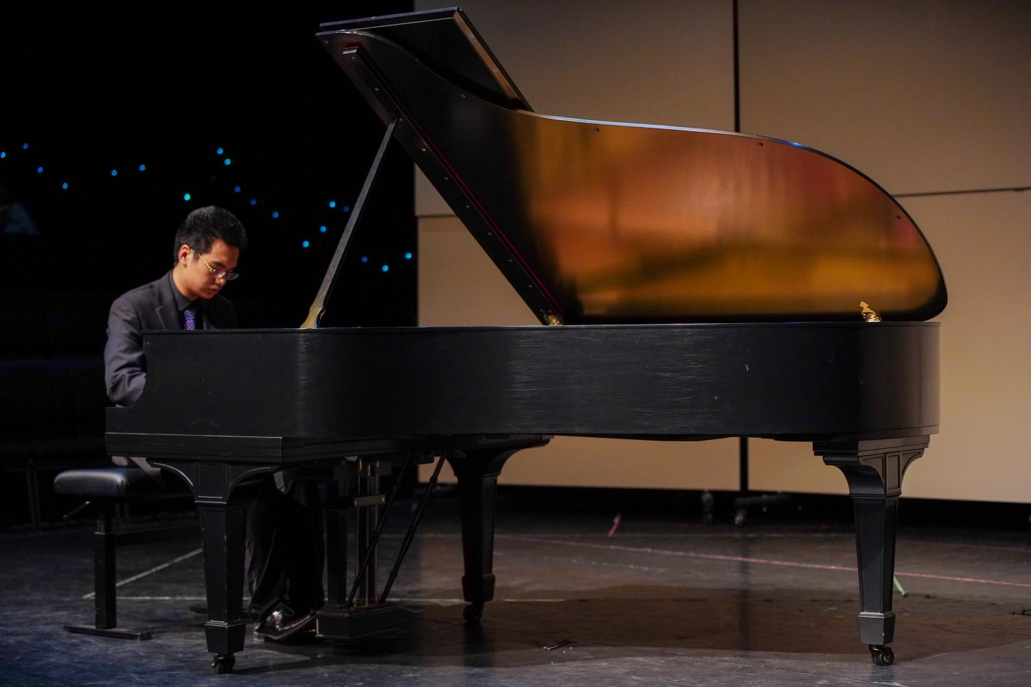 """Piano junior Daniel Wang plays the first movement of Beethoven's """"Sonata No. 23 in F minor, Op. 57."""" Journalist Peter Gutmann called this piece """"one of the most compelling and significant"""" of Beethoven's 32 sonatas."""