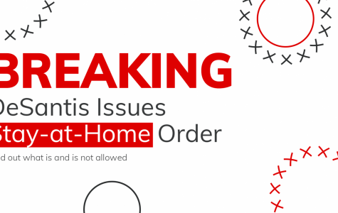 BREAKING: GOV. DESANTIS ISSUES STAY-AT-HOME ORDER