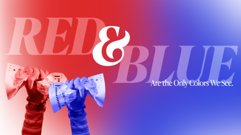 Red and Blue Are the Only Colors We See