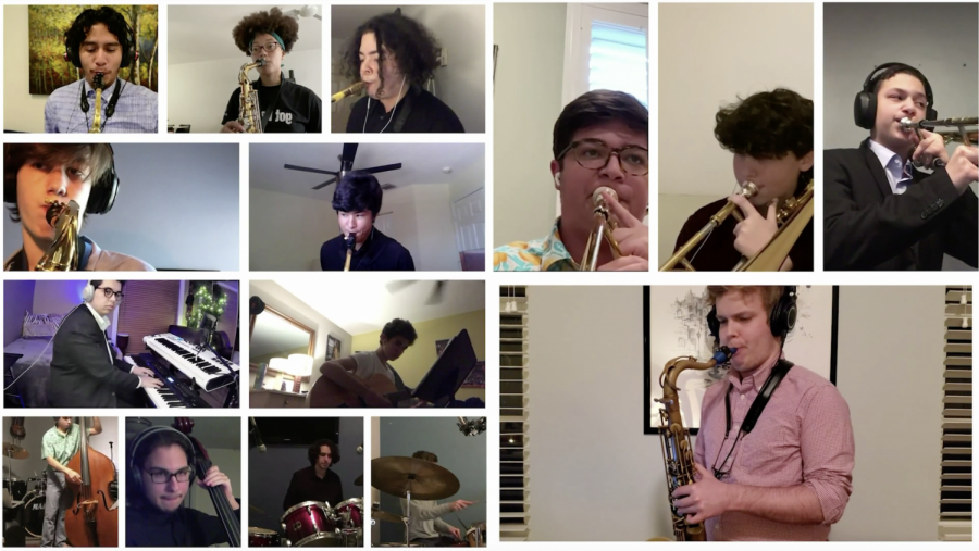 """Dreyfoos was one of six high schools across the country selected to participate in the concert, earning the chance to play two pieces as a band. Band teacher Christopher De Leon, who has participated at similar events with other high school bands, presented this opportunity. """"We all were looking forward to it, we all decided it was a big opportunity for us,"""" band senior Ivan Serafin said. """"It was [an] experience, a way of making our performances more enjoyable."""" Photos by Lexi Critchett."""